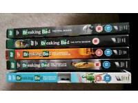 Breaking bad series 1, 3, 4, 5, 6