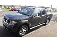 2008 Nissan Navara Long Way Down 2.5