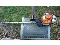 Stihl hs81rc petrol hedge trimmer 30 inch blade full working order not lawnmower