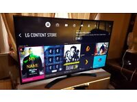 LG 65-Inch SUPER SMART 4K HDR ULTRA HD LED TV,Built-in Wifi,Freeview HD,Netflix, Excellent condition