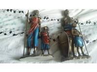 Masai figures