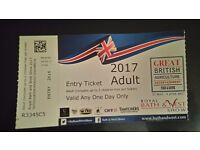 Adult ticket to Royal Bath and West show