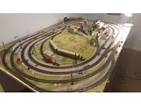 Hornby train set/layout