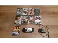 Psp 3000 with games