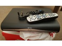 SKY box with power cable and remote £15