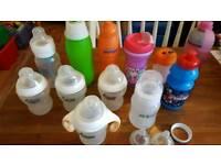 Lots pf Bottlescand Breakers
