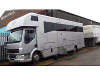 Leyland daf 7.5 ton 7 berth camper 2005 178k miles