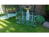 Set glass table's