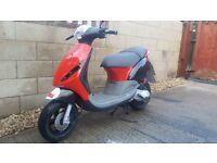 Piaggio zip 50cc 03 plate