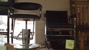 Coiffeuse Ensemble De Coiffure Chaise Ajustable chaise pour lavage et Lavabo