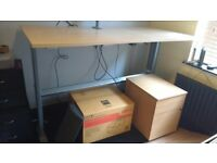 Sit stand rising desk (electronic)