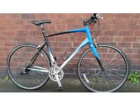 "Giant FCR Flat Bar Road Bike XL 23"" Frame Size"