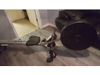 Roger black air rowing machine . Bought in argos used twice