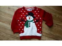 Kids Novelty Christmas Jumper 3-4 yrs