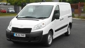 AS NEW 2016 PEUGEOT EXPERT HDI PROFESSIONAL. 3300 MILES. AIRCON. BLUETOOTH. 3 SEATS. 2 SIDE DOORS.