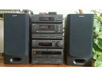 Sony mhc 2750 compact stereo system boxed
