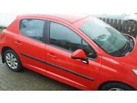Peugeot 207 1.4 plate 2009 plate for sale or swap