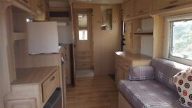 Large 2 berth lunar caravan