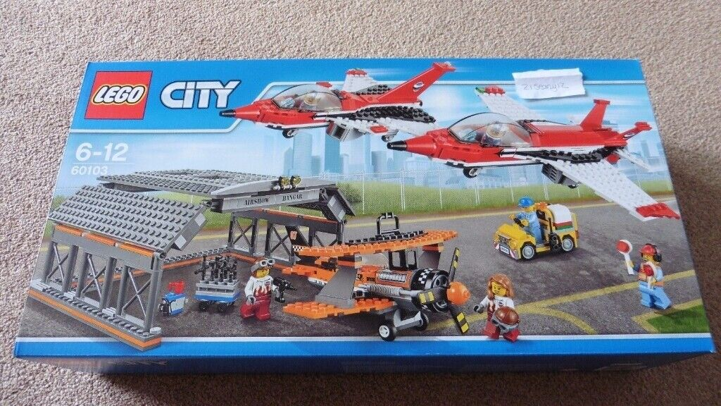 Lego 60103 Airport Airshow with Red Arrows NEW SEALED Discontinued | in  Exeter, Devon | Gumtree