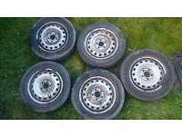 Vauxhall Vivaro Trafic Primastar Wheel And Tyres