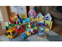 Peppa pig / disney train toys