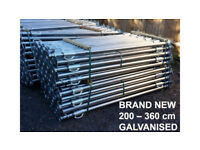 ACROW PROPS Brand NEW Galvanised 200-360cm FREE DELIVERY in selected areas