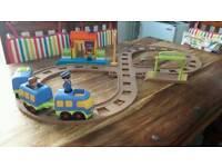 Happyland figure of 8 train set