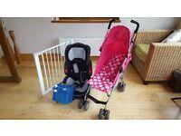 Infants: Car Seat; Push Chair; Gate & Portable Seat