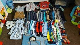 Massive boys 12-18m and some 18-24 month clothes bundle