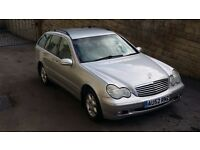 2002 / 52 Plate Mercedes-Benz C Class C220 CDI Elegance Estate SE 5dr AUTO EXCELLENT CONDITION