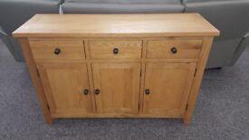 Julian Bowen Astoria Oak Sideboard Can Deliver