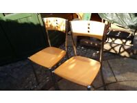 TWO CHAIRS BOTH FOR FIVER TOGETHER see pics