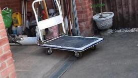 Steerable 4wheeled trolley