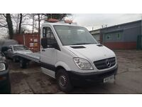SPRINTER DIESEL AUTOMATIC 2007 311 RECOVERY BEAVERTAIL TRUCK car transporter