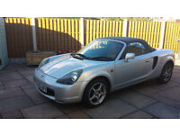 Toyota MR2 Roadster, 2002, convertable