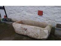 Granite trough for sale