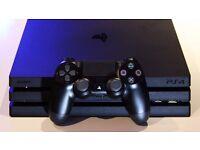 Sony PlayStation 4PRO 1TB + Fifa 2017 + NBA 2K17 + PES 2017