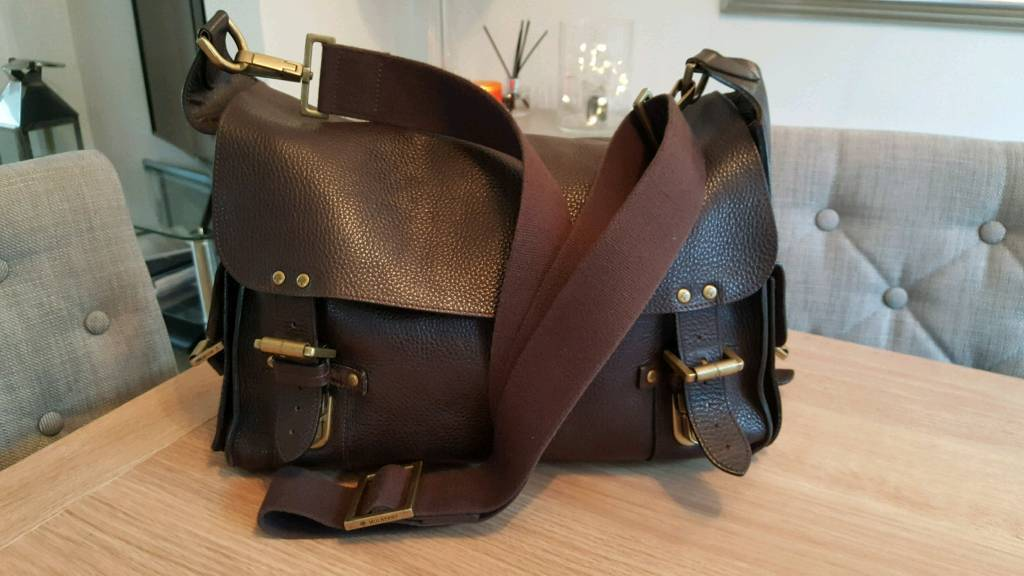 83cb8b201ced Just Reduced for Quick Sale! Soft Brown Leather Genuine Mulberry Ladies or  Gents Messenger Bag