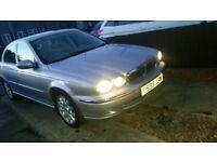 2002 Jaguar x-type 2.5 V6 petrol, Lots of history LOW MILES (like: ford, renault,audi, bmw,vauxhall)