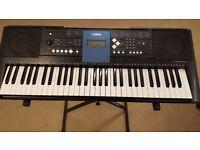 Yamaha E333 Keyboard & Stand