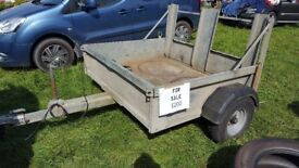 Bateson Galvanised trailer