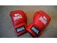 Red Lonsdale Boxing Gloves