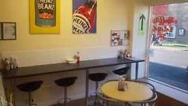 Fantastic newly established café and sandwich bar