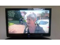 """JVC 37"""" LCD Television LT-37DR1BJ with stand and remote"""
