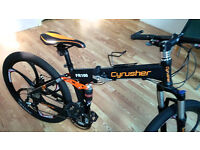 Cyrusher FR100, Mountain Bike Folding frame Bike Dual Suspension Mens bike