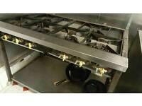 6 burner gas cooker
