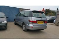 2003 | Toyota Estima 2.4D | Auto | Petrol | 1 Former Keeper ----- DVD----LEATHER---MPV 7 SEATER