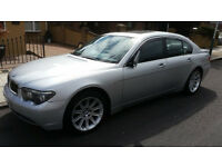 2002 52 BMW 745I AUTO SILVER + 117K MILES + LPG/GAS CONVERTED + 50MPG + NEW MOT