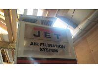 Jet air filteration system