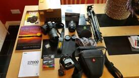 Nikon D7000 SLR with lots of extras Inc Tamron Lens 18-270